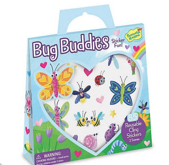 Bug Buddies Reusable Sticker Tote 0