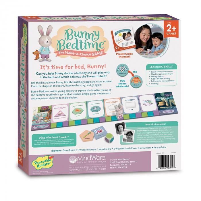 Bunny Bedtime - E timpul să mergi la culcare, Iepurașule! Jocul deciziilor 1