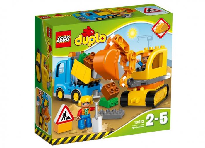 Camion si excavator pe senile LEGO DUPLO  (10812) 0
