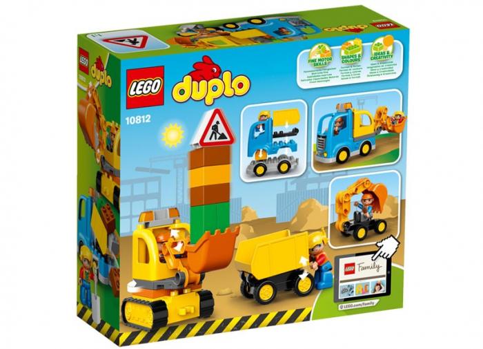 Camion si excavator pe senile LEGO DUPLO  (10812) 1