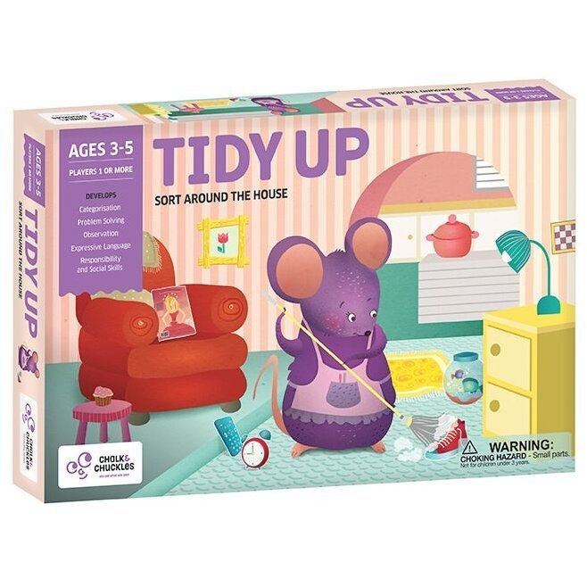 Chalk and Chuckles Joc - Tidy up [0]