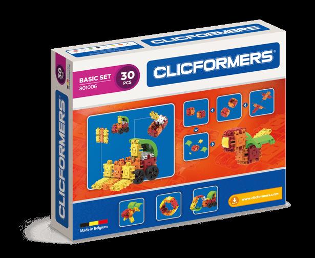 Set de construit Clicformers-Basic 30 piese 1
