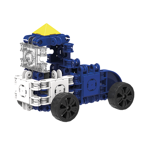 Set de construit Clicformers- Craft albastru, 25 de piese 1