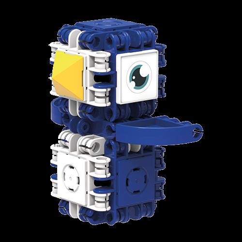 Set de construit Clicformers- Craft albastru, 25 de piese 2
