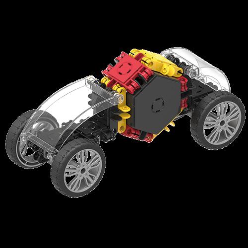 Set de construit Clicformers- Masini de viteza, set 34 piese 1