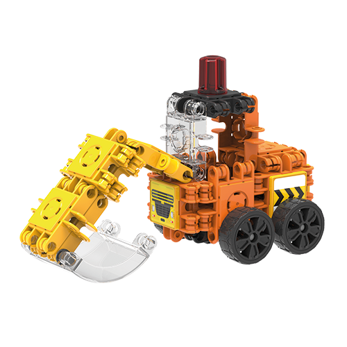 Set de construit Clicformers- Mini set cu vehicule de santier 1