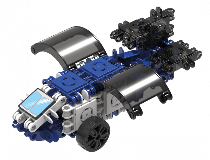Set de construit Clicformers-Mini Transporter 30 piese 1