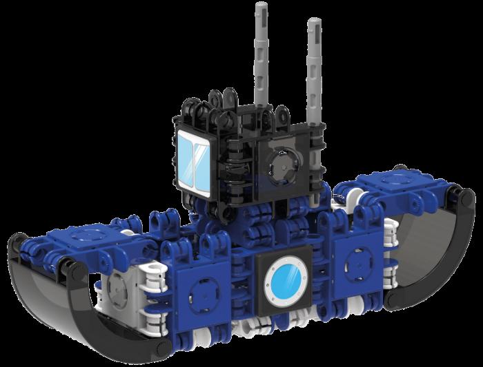 Set de construit Clicformers-Mini Transporter 30 piese 2