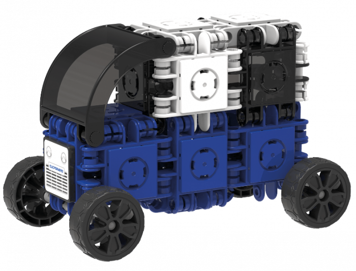 Set de construit Clicformers-Mini Transporter 30 piese 3