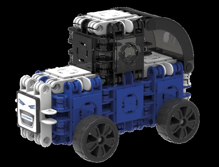 Set de construit Clicformers-Mini Transporter 30 piese 4