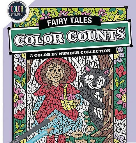 Color by Number Color Counts: Fairy Tales 0