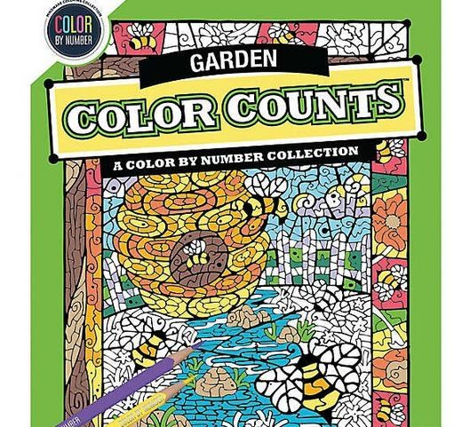 Color by Number Color Counts: Gardens 0