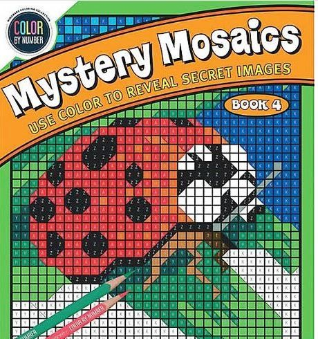 Color By Number Mystery Mosaics: Book 4 0