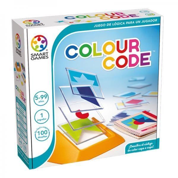 Colour Code, joc pentru preșcolari de la SMART GAMES 0