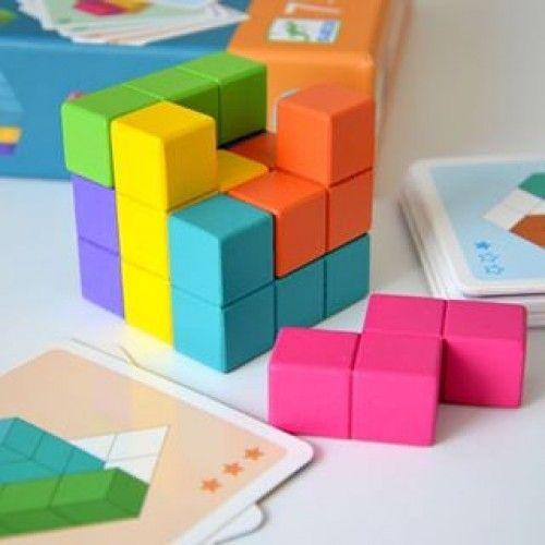 Cubissimo - joc de logică de la Djeco 1