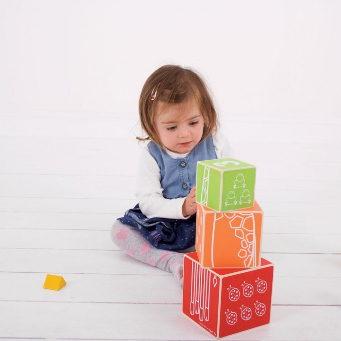 Cuburi colorate pastel 1