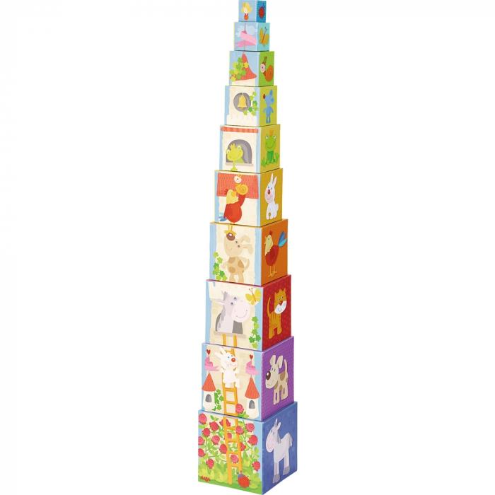 Cuburi de stivuit: Rapunzel -  Haba 2