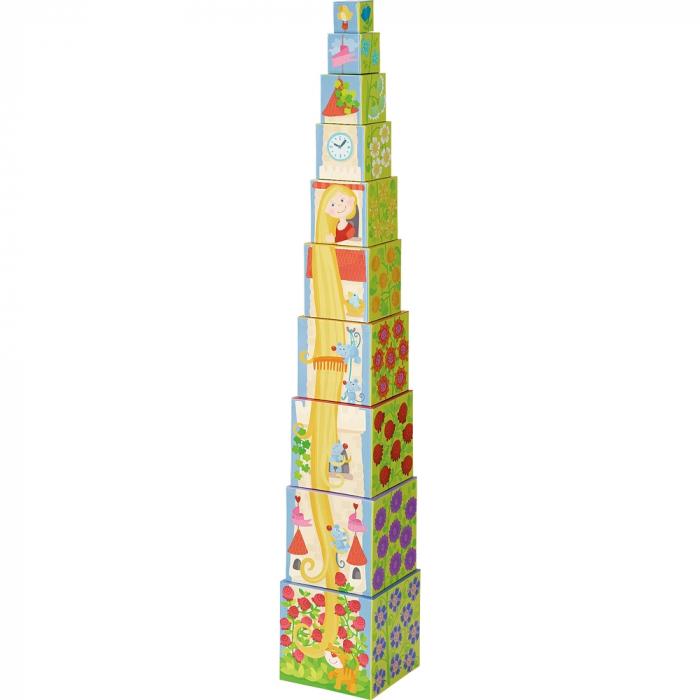 Cuburi de stivuit: Rapunzel -  Haba 5
