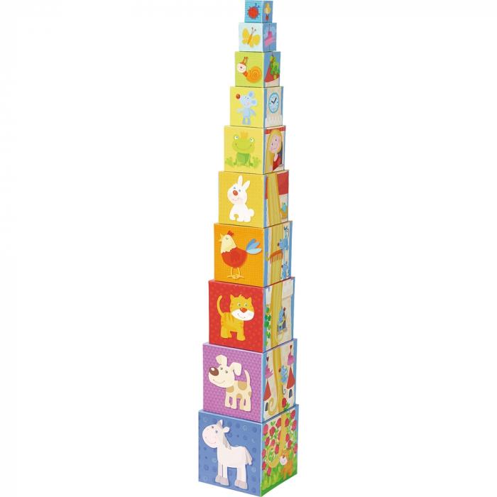 Cuburi de stivuit: Rapunzel -  Haba 1
