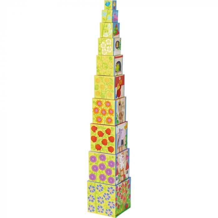 Cuburi de stivuit: Rapunzel -  Haba 3