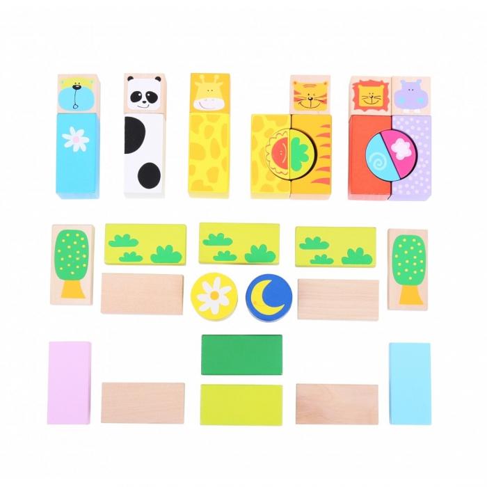 Cuburi pentru construit - Safari 1