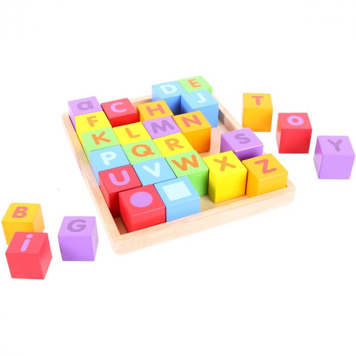 Cuburi pentru format cuvinte - ABC 1