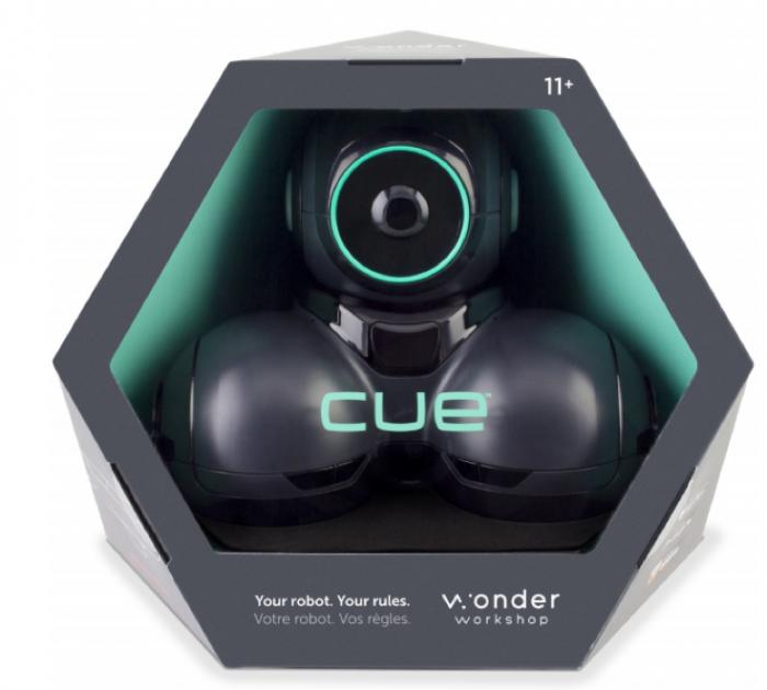 CUE - Robot inteligent programabil - Inteligență artificială 0