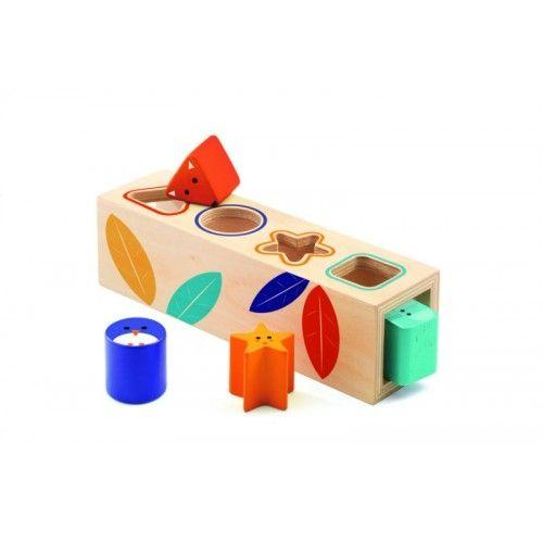 Cutia formelor Boita Basic Djeco [0]