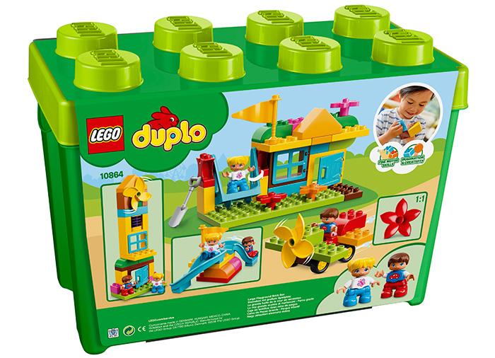 Cutie mare de caramizi pentru terenul de joaca (10864) 2