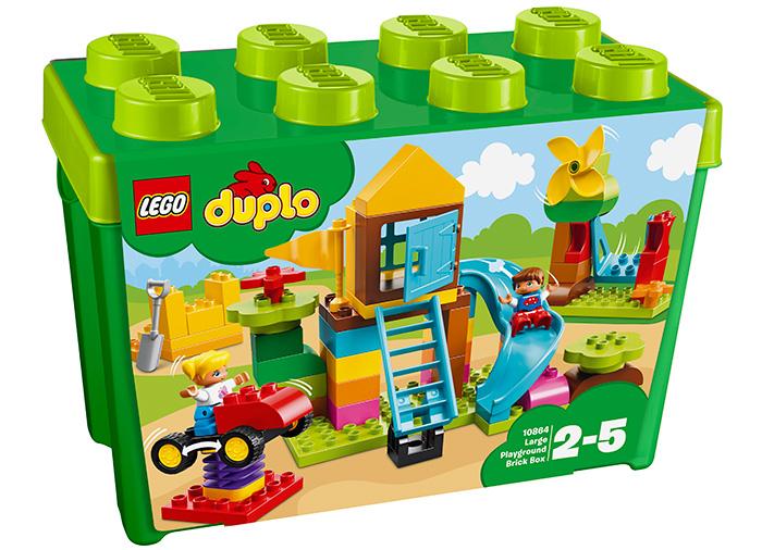 Cutie mare de caramizi pentru terenul de joaca (10864) 0