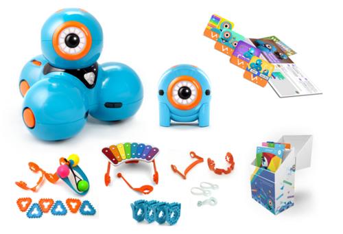 DASH & DOT - kit de super roboți pentru copii 0