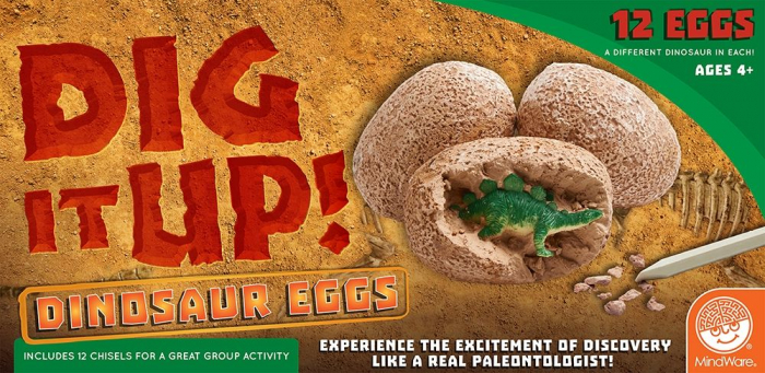 Dig It Up! Dinosaur Eggs, Ouă de dinozauri [0]