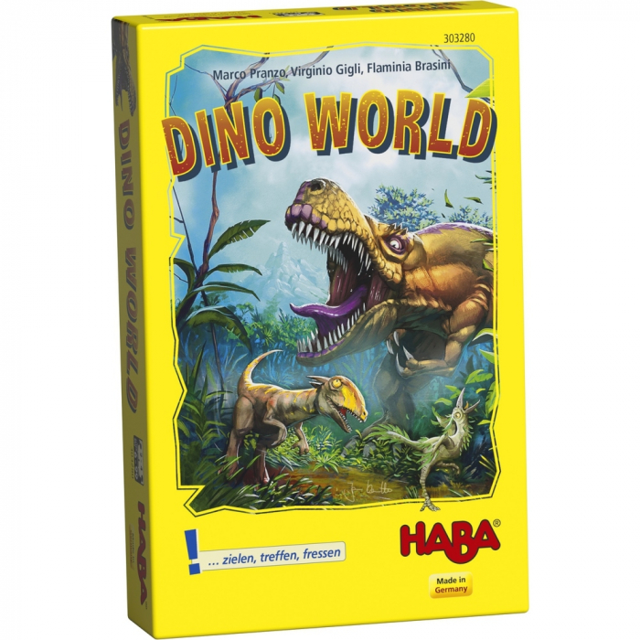 Dino World – Lumea dinozaurilor, Haba 0