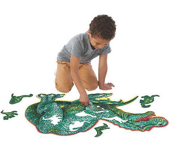 Dinosaur Floor Puzzle – puzzle de podea în formă de dinozaur 1
