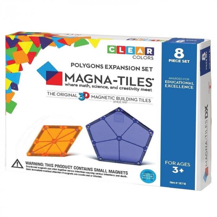 Extensie Poligoane Magna-Tiles (8 piese) 0