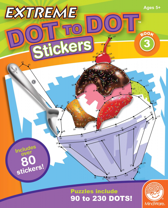 Extreme Dot to Dot Stickers: Book 3 0