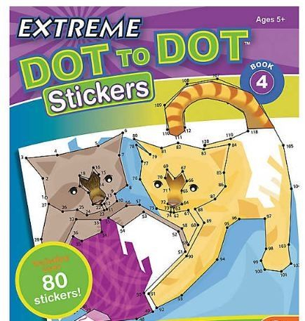 Extreme Dot to Dot Stickers: Book 4 [0]