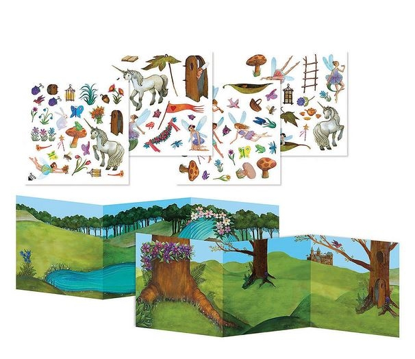 Fairyland Reusable Sticker Tote 1