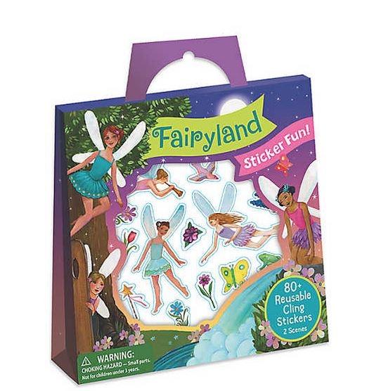 Fairyland Reusable Sticker Tote 0