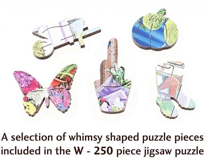 Florăria, puzzle din lemn Wentworth 1