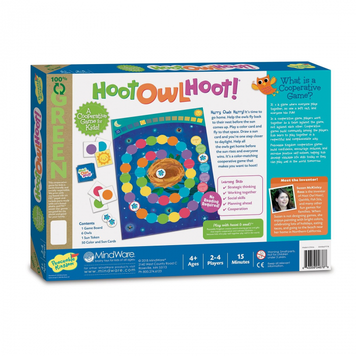 Hoot Owl Hoot! - Zboară, bufniță, zboară! 1