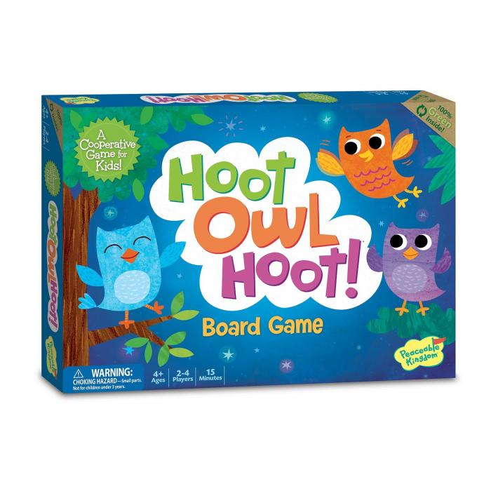 Hoot Owl Hoot! - Zboară, bufniță, zboară! 0
