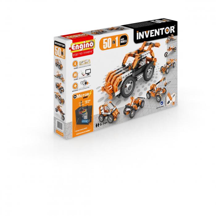 INVENTOR 50 MODELE SET MOTORIZAT - MODELE MULTIPLE 2
