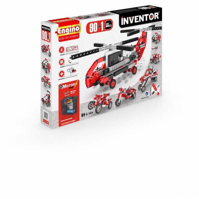 INVENTOR 90 MODELE SET MOTORIZAT - MODELE MULTIPLE 3
