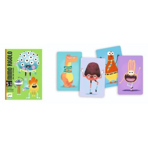 Joc cu cărți Djeco Mimo Rigolo 1