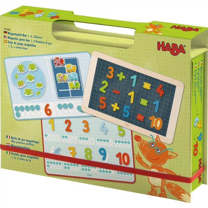 Joc cu magneți: Numerele-  Haba 0