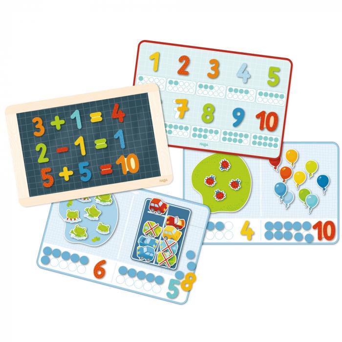 Joc cu magneți: Numerele-  Haba 2