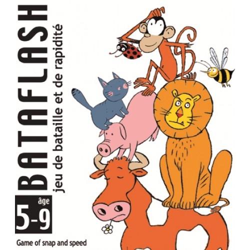 Joc de cărți Djeco Bataflash 0