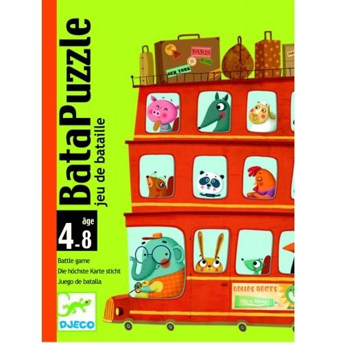 Joc de cărți Djeco Batapuzzle 0