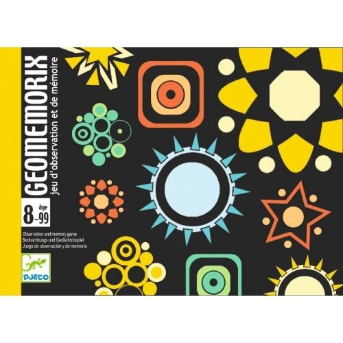 Joc de cărți Djeco Geomemorix 0